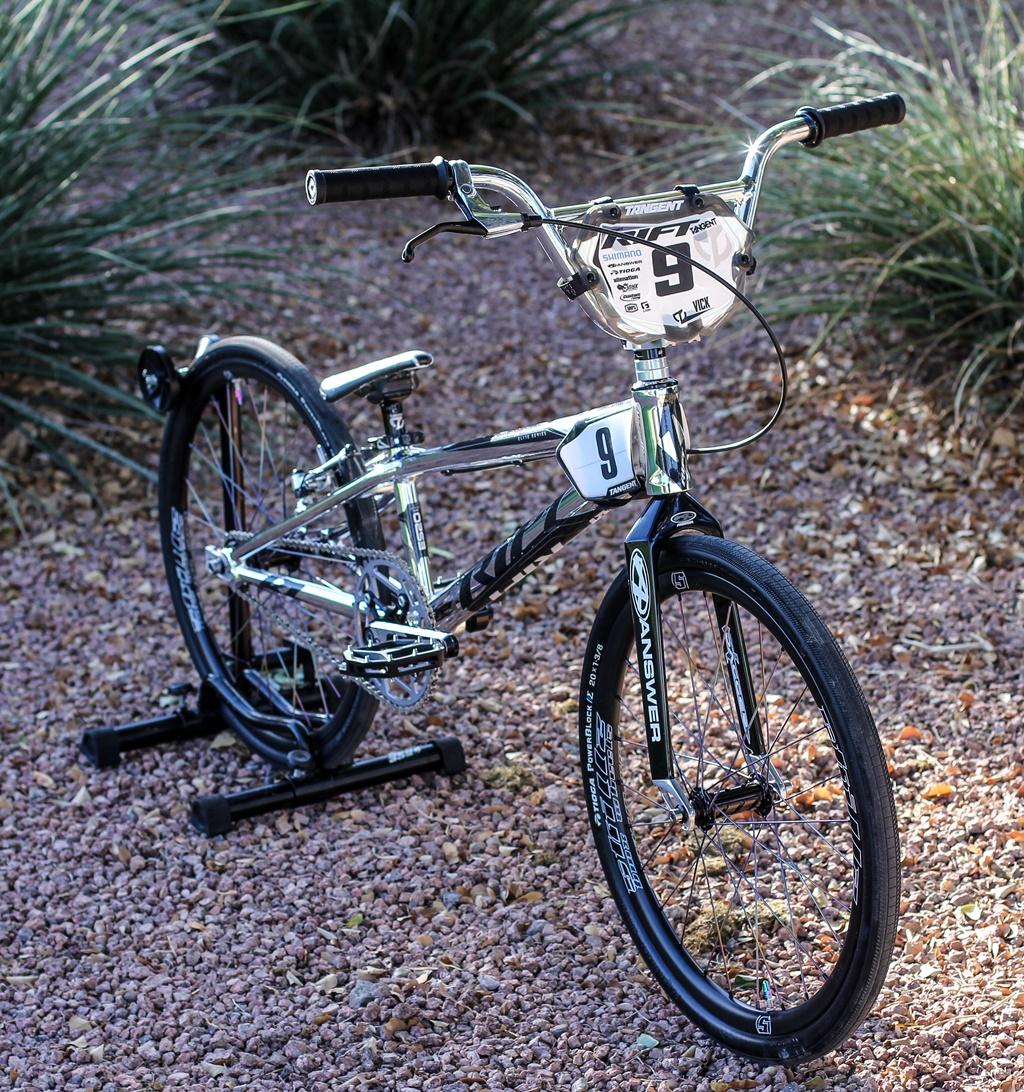 rift tangent es20 bmx bike