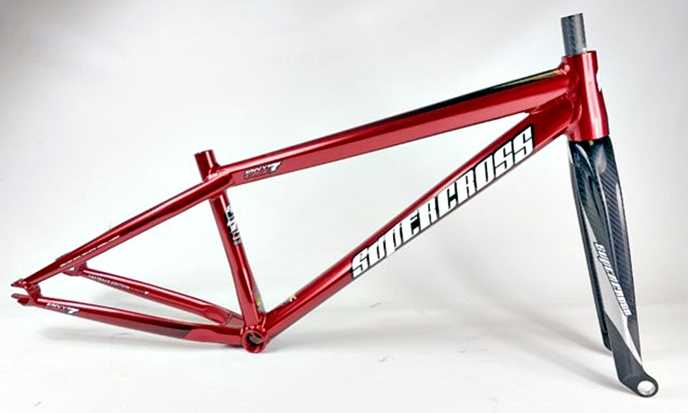 supercross rs7 fastback bmx frame