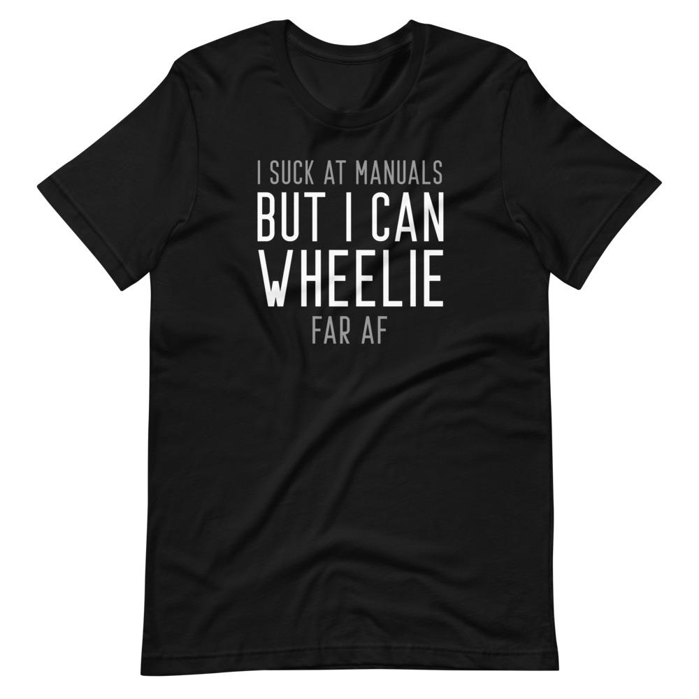 I can wheelie BMX t-shirt
