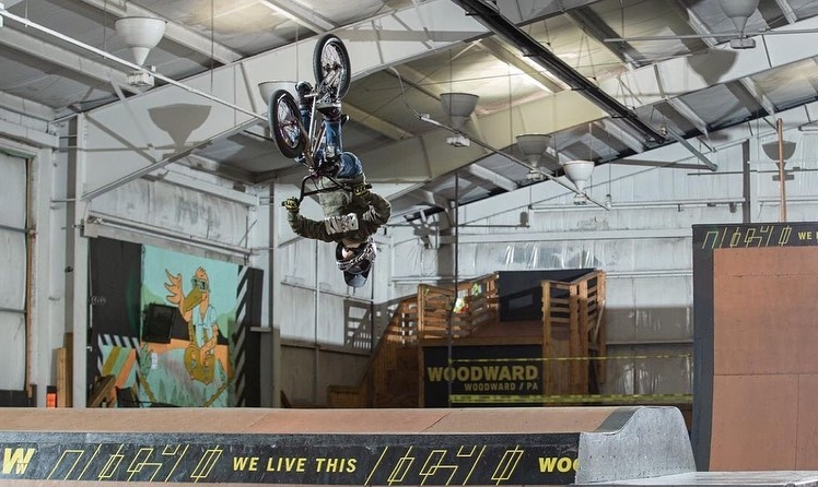 backflip usabmx freestyle Josh McElwee photo