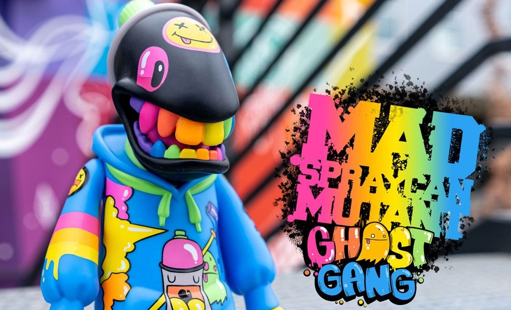 mad spraycan mutant ghost gang toy