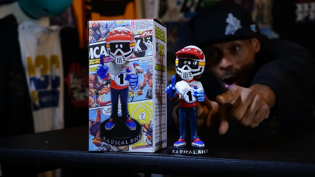 Radical Rick Bobble Head crazy al cayne