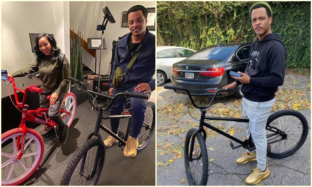 t.i. tiny BMX Bikes