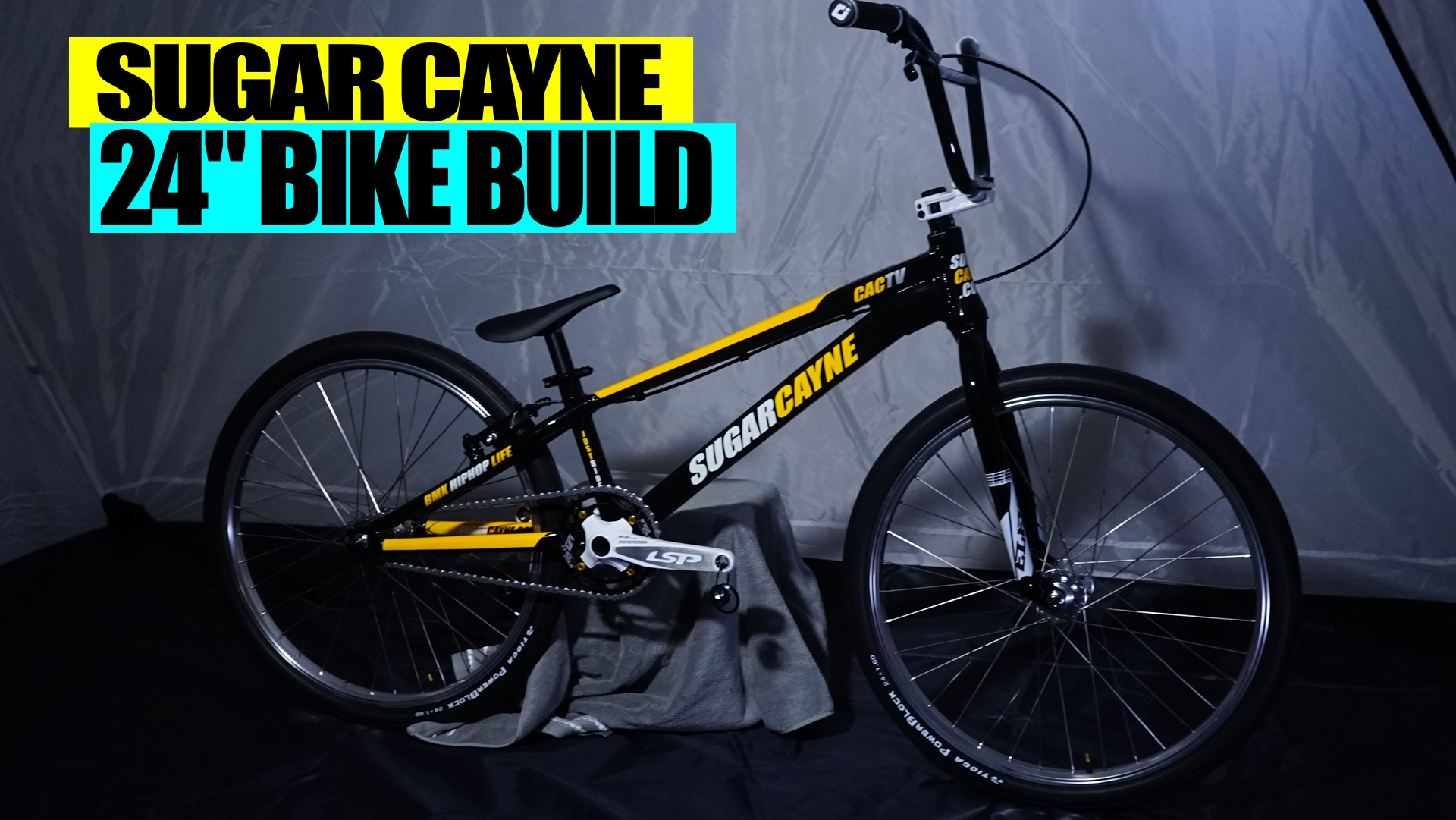 sugar cayne bmx bike build