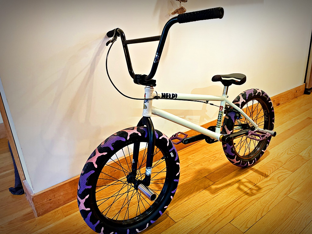 Kink Nathan Williams bmx frame