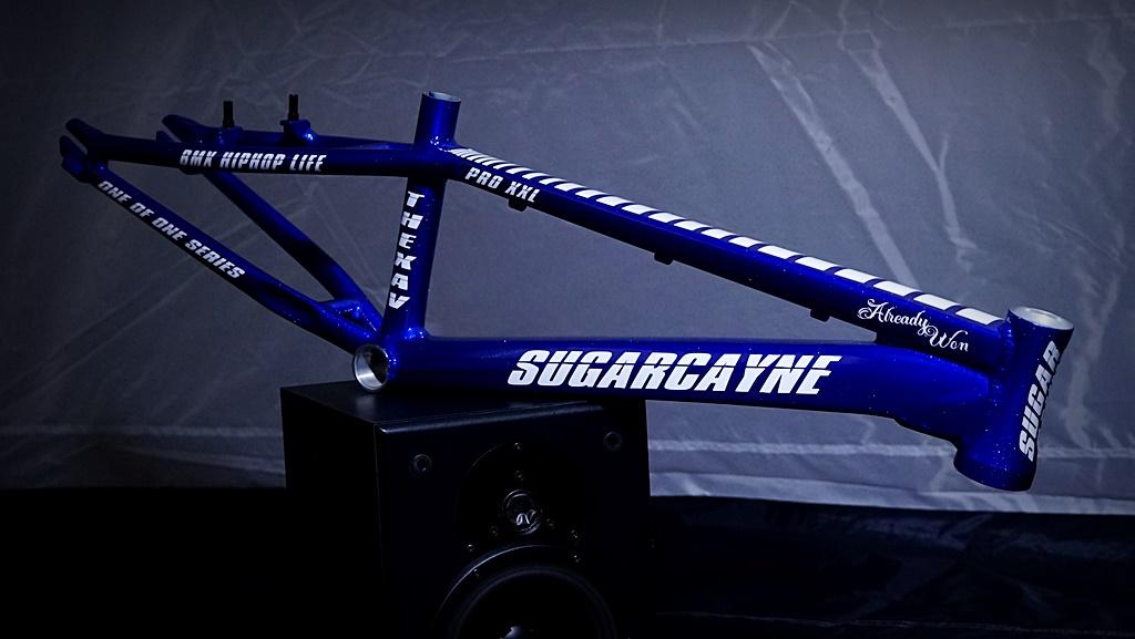 sugar cayne bmx frame