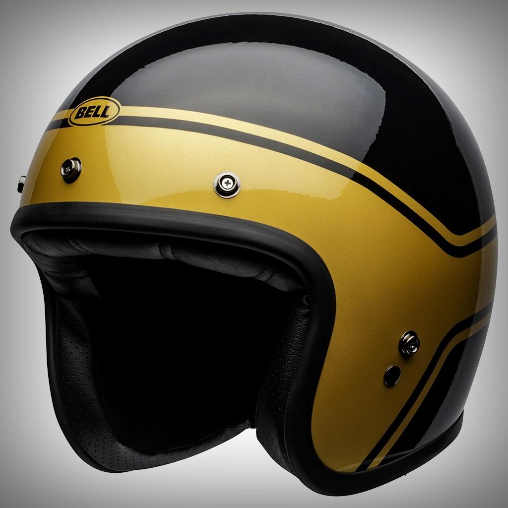 bell custom 500 helmet gold