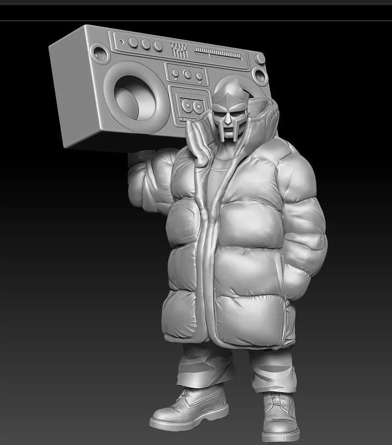 mf doom puffy jacket, fatoh