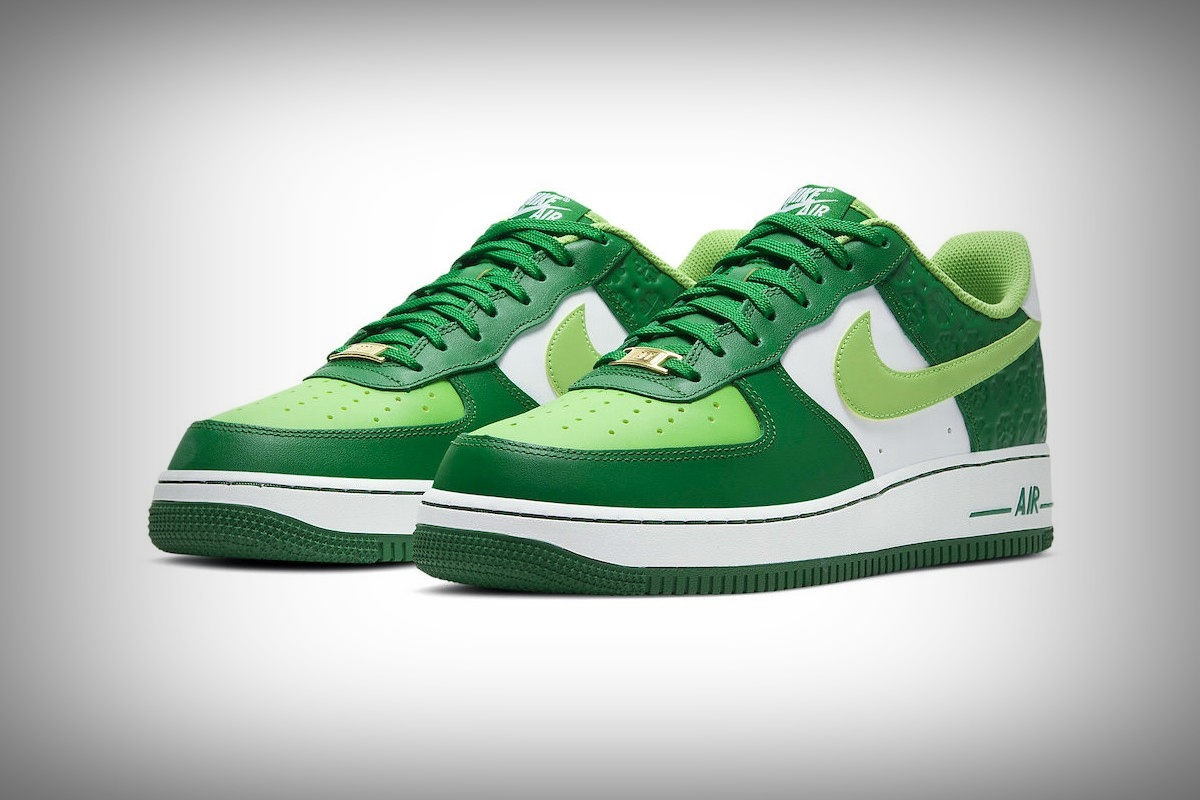 nike air force 1 st patricks