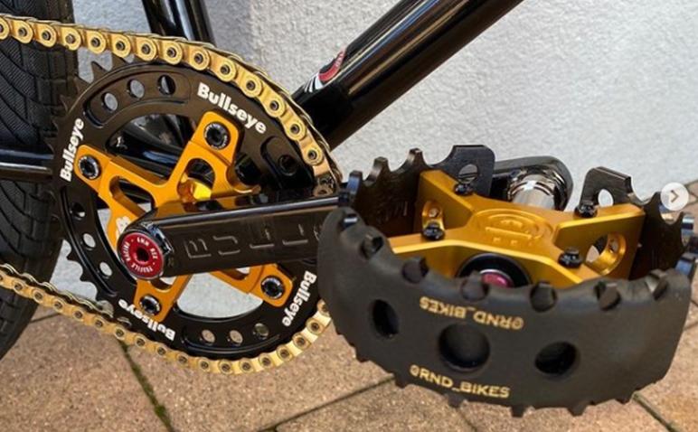 Rnd Bikes bullseye pedal protectors