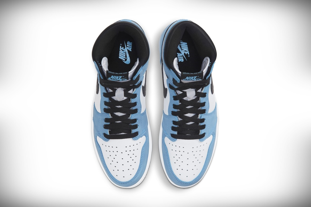air jordan university blue sneakers