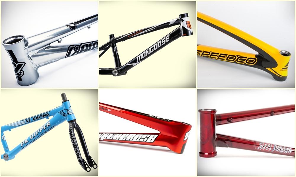bmx racing frames