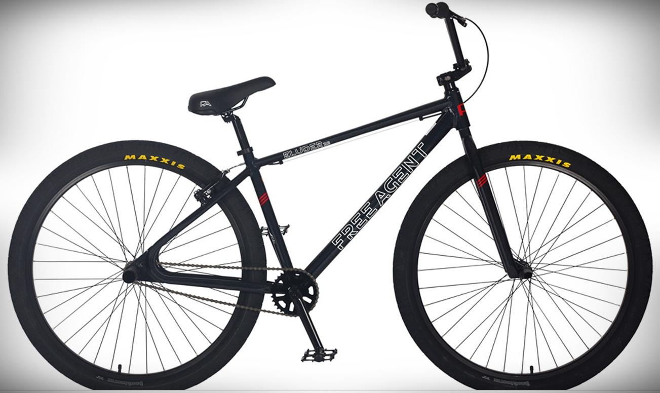 Free agent eluder 29 bmx bike