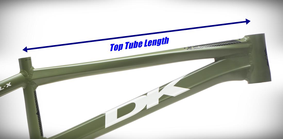 dk bikes professional top tube