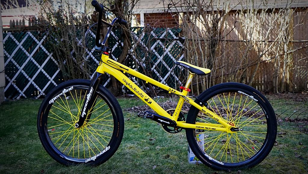 naughty by nature anniversary bmx bike