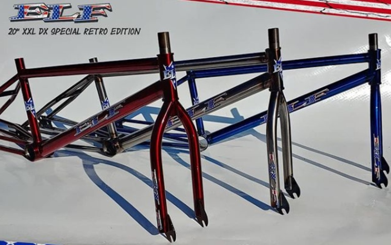 elf DX 20 Retro BMX Frame