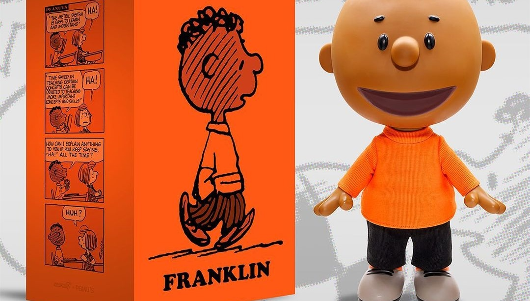 franklin vinyl art toy super7