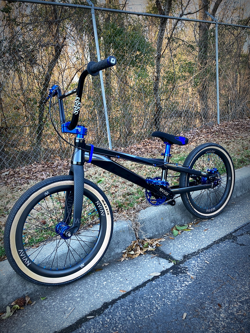 ICE f-118 bmx race bike
