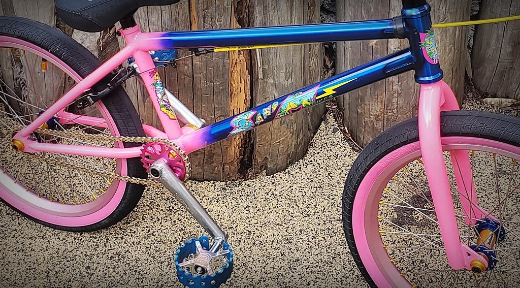 Mike Hucker custom BMX bike