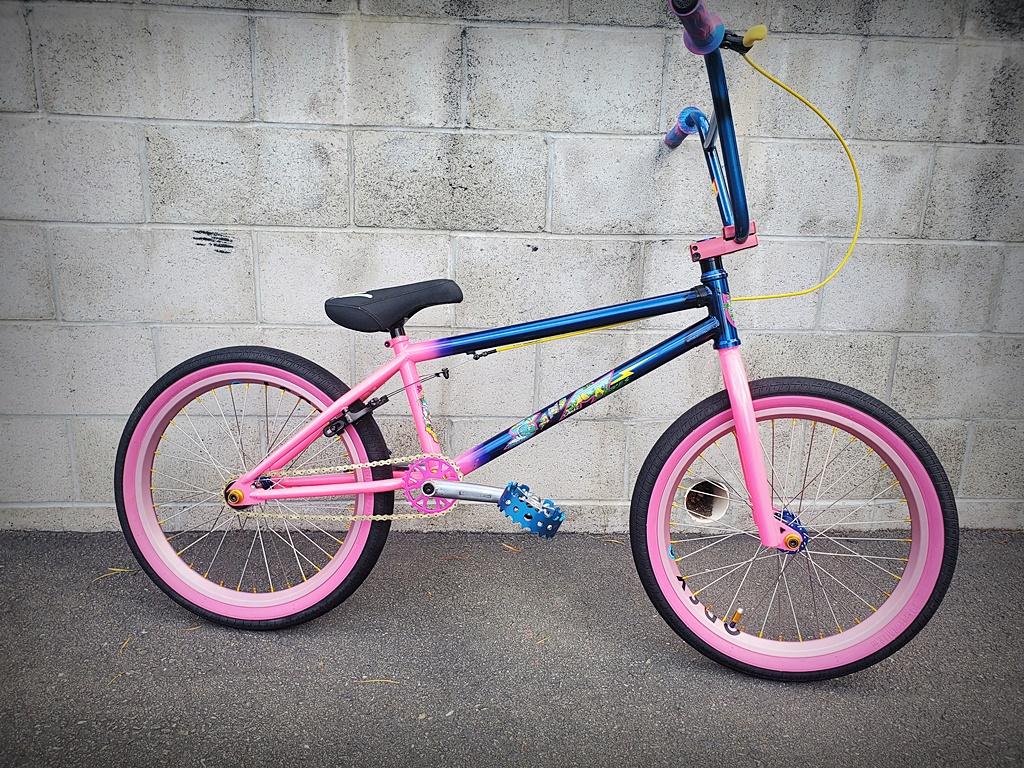 SandM Hucker BMX bike