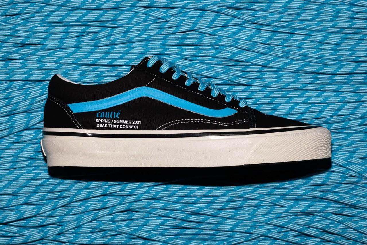 Coutié vans baby blue sneakers