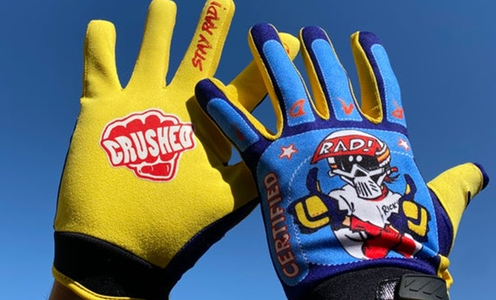 Radical Rick gloves