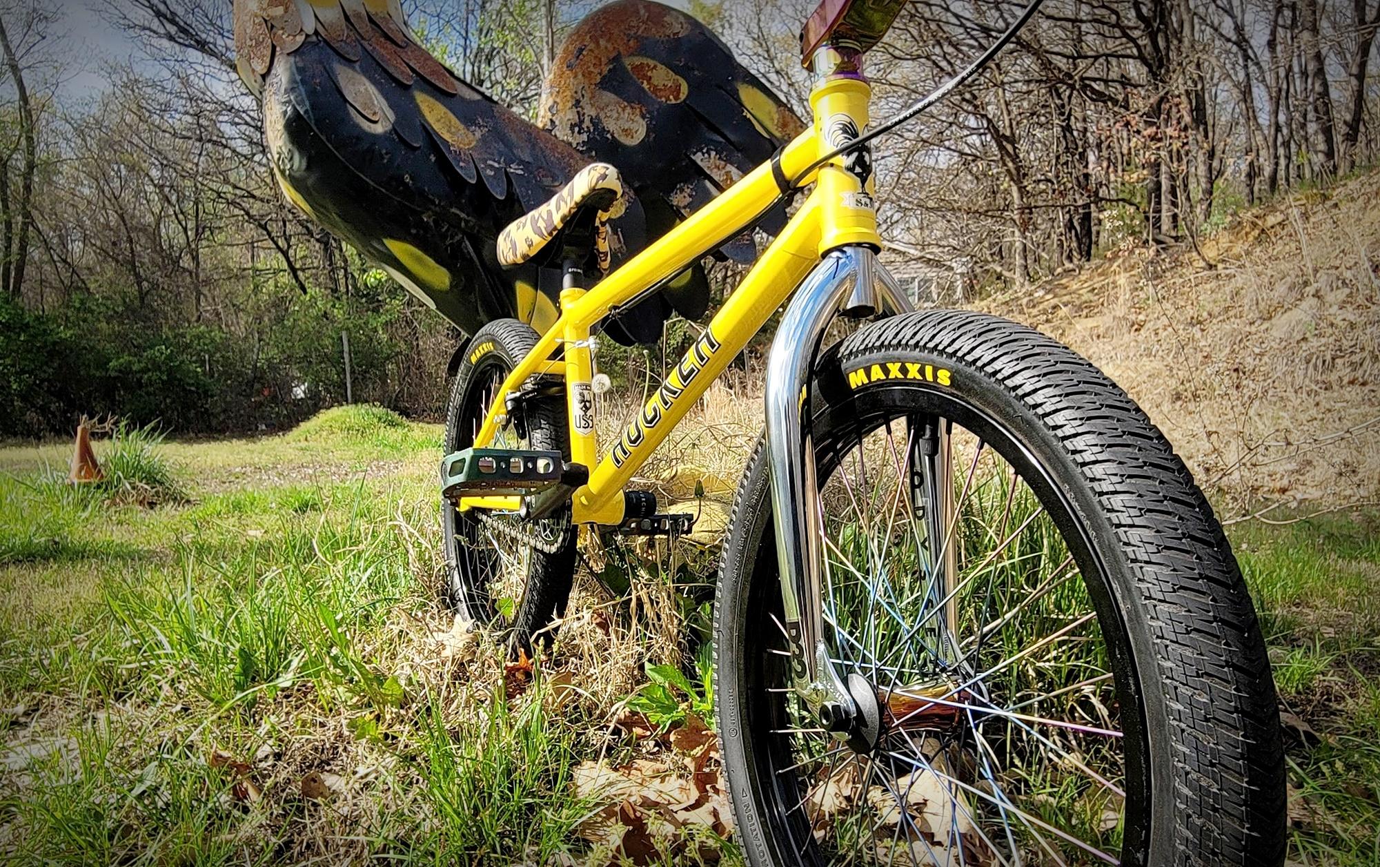 hucker bmx bike