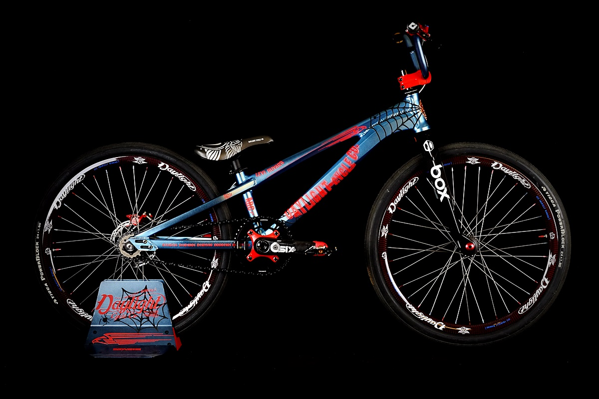 daylight spiderman arc c1 bmx cruiser