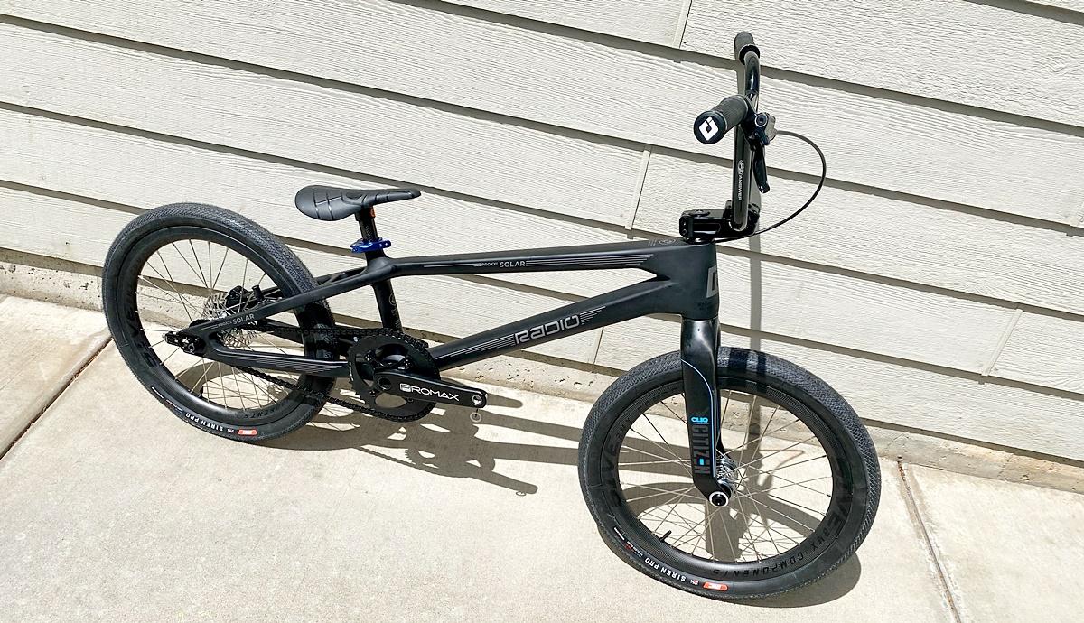 radio solar bmx bike
