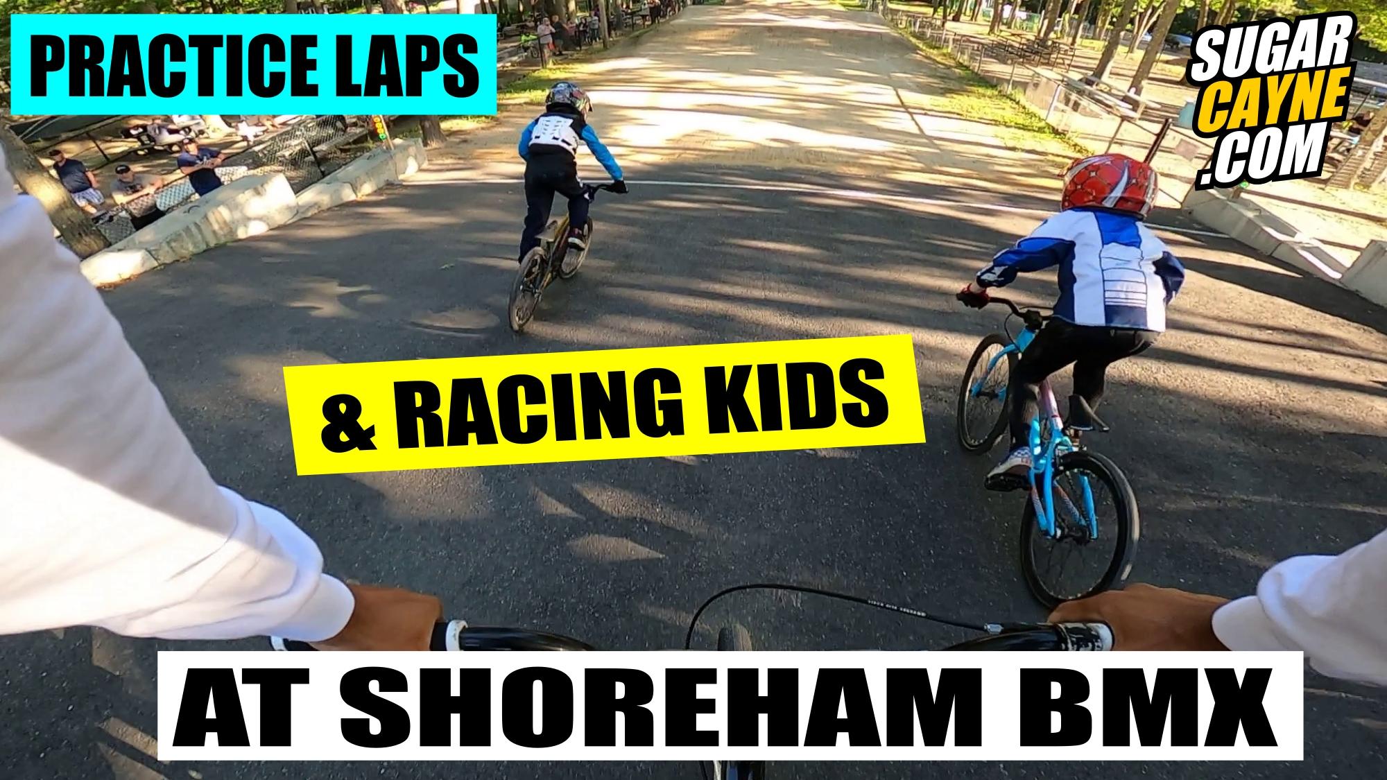 shoreham bmx practice laps