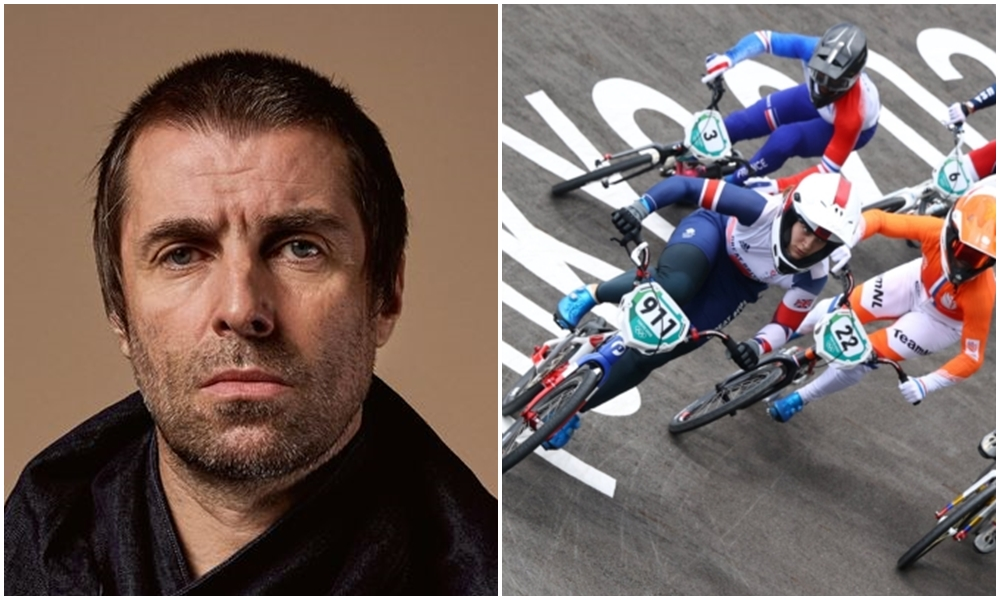 liam gallager olympic bmx racing
