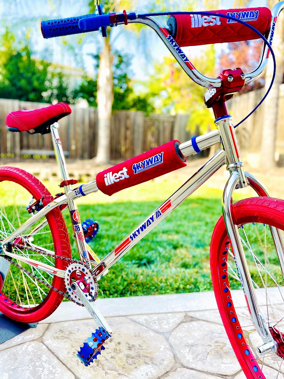 skyway TA 26 bmx bike