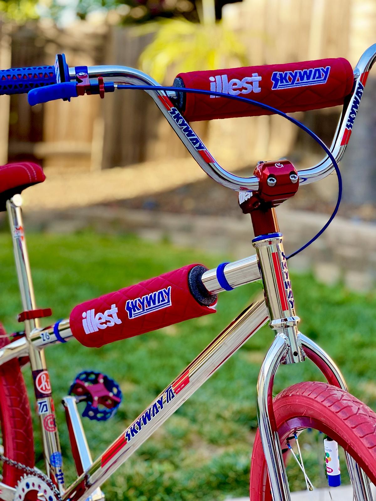 skyway TA 26 illest bmx bike