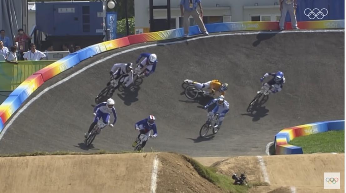 olympics bmx top 10 finishes