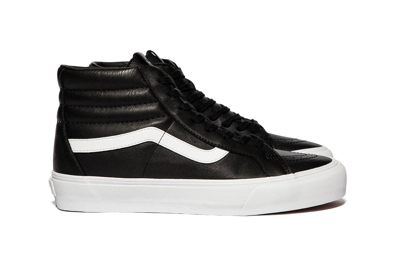 vault by vans leather sneakers