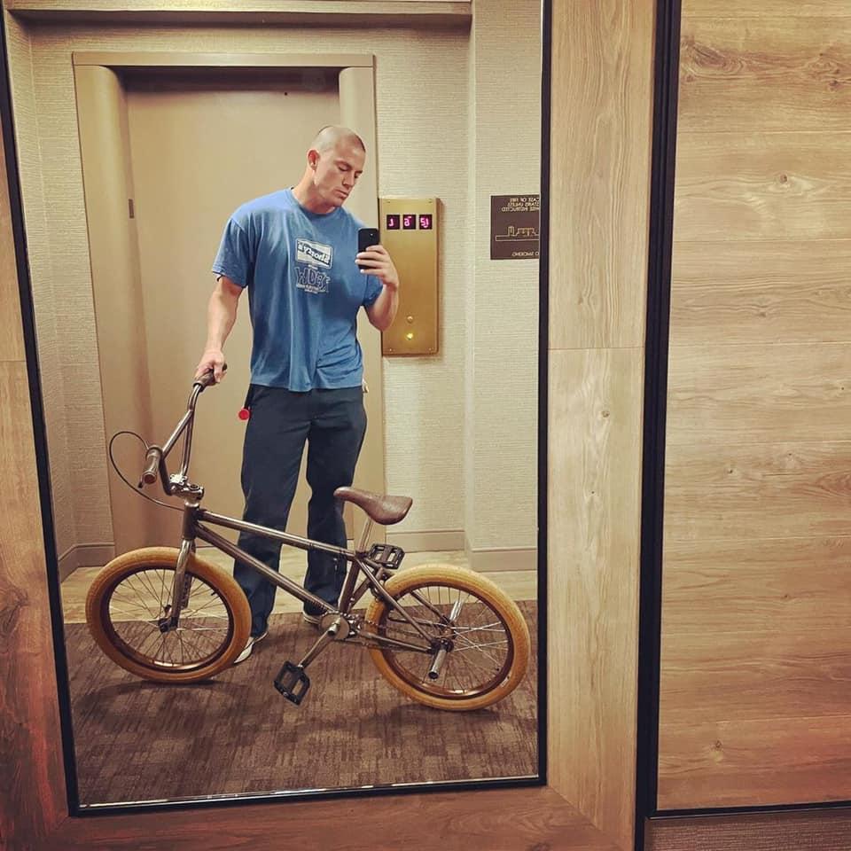 channing tatum new bmx bike